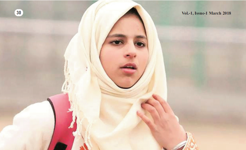 A 16-year-old girl gives voice to players who can't speak, hear- By Mir Ehsan